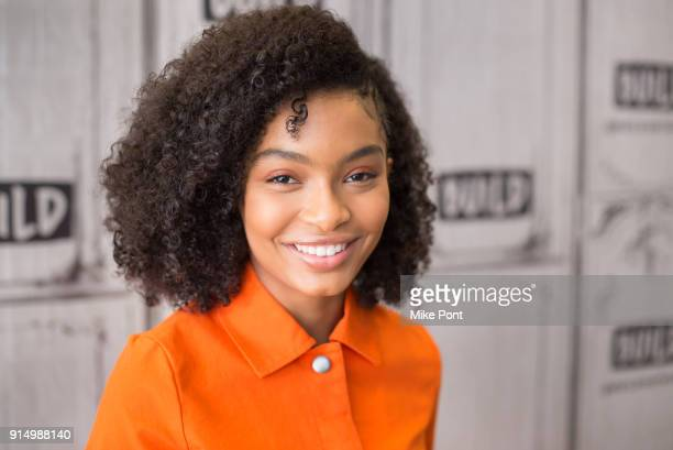 Yara Shahidi visits Build Series to discuss 'grown-ish' at Build Studio on February 6, 2018 in New York City.