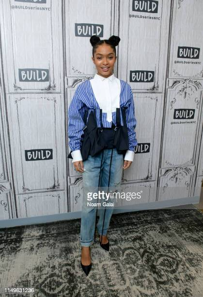 Yara Shahidi visits Build Series to discuss The Sun Is Also a Star at Build Studio on May 16 2019 in New York City
