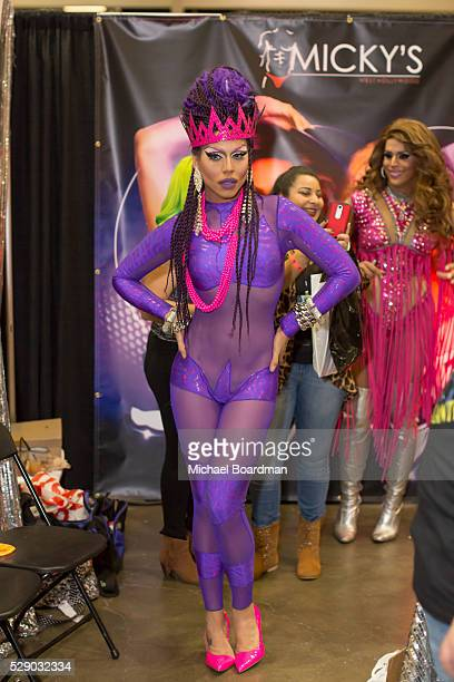 Yara Sofia attends the 2016 RuPaul's DragCon at Los Angeles Convention Center on May 07 2016 in Los Angeles California