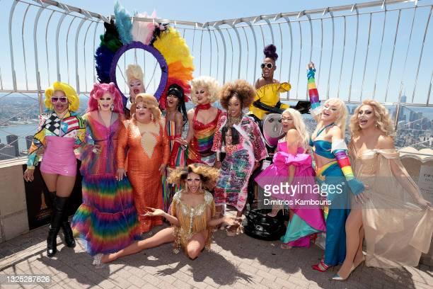 Yara Sofia, Pandora Boxx, Eureka!, Ginger Minj, Trinity K. Bonet, Serena ChaCha, Scarlet Envy, A'keria C. Davenport, Ra'Jah O'Hara, Jiggly Caliente,...