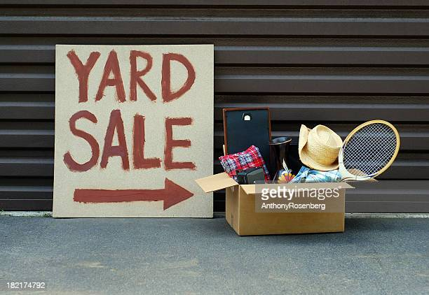 yard sale - garage sale stock pictures, royalty-free photos & images