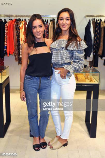 Yarden Katz and Oren Katz attend a Cocktail Event in support of HOLA Heart of Los Angeles hosted by Barneys New York at Barneys New York Beverly...