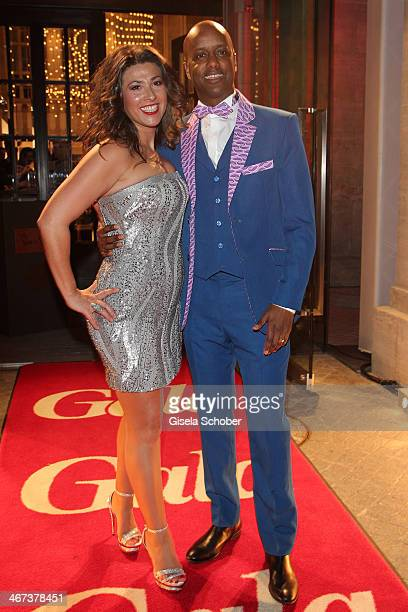 Yared Dibaba and Fernanda de Sousa Dibaba attend the Berlin Opening Night Of Gala & Ufa Fiction during the 64th Berlinale International Film Festival...
