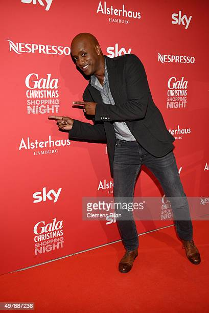 Yared Dibaba attends GALA Christmas Shopping Night 2015 at Alsterhaus on November 19 2015 in Hamburg Germany