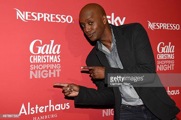 Yared Dibaba attends GALA Christmas Shopping Night 2015 at Alsterhaus on November 19, 2015 in Hamburg, Germany.