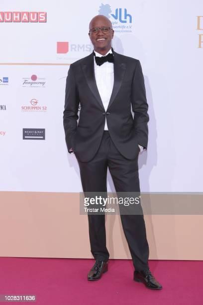 Yared Dibaba attends the Deutscher Radiopreis at Schuppen 52 on September 6, 2018 in Hamburg, Germany.