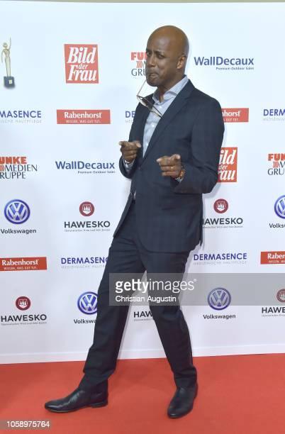 Yared Dibaba attends the 'Goldene Bild der Frau' award at Stage Operettenhaus on November 7, 2018 in Hamburg, Germany.