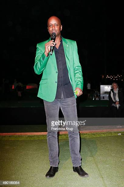 Yared Dibaba attends the Golf Lounge Hamburg 10th anniversary celebrations on September 26, 2015 in Hamburg, Germany. The Golf Lounge Hamburg is...