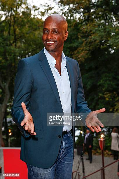 Yared Dibaba attends the 'Nacht der Medien' on August 29, 2014 in Hamburg, Germany.
