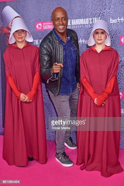 Yared Dibaba attends the TV series start of 'The Handmaid's Tale - Der Report der Magd' at Astor Film Lounge on September 21, 2017 in Berlin, Germany.