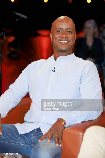 Yared Dibaba during the NDR talk show on August 16, 2019 in Hamburg, Germany.