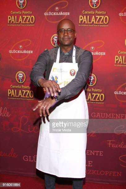 Yared Dibaba during the Poletto Palazzo Charity Event on February 8, 2018 in Hamburg, Germany.