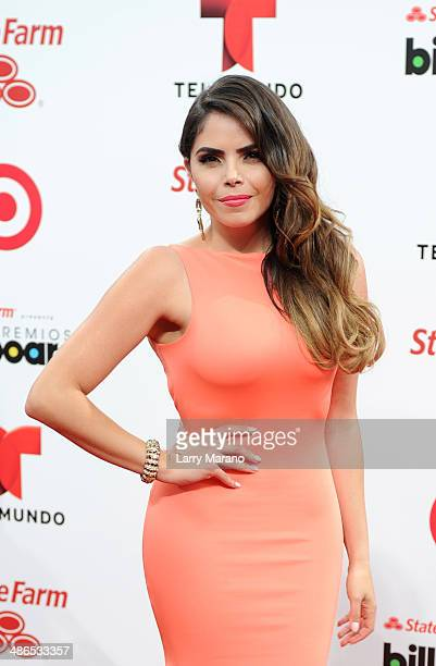 Yarel Ramos attends the 2014 Billboard Latin Music Awards at Bank United Center on April 24 2014 in Miami Florida