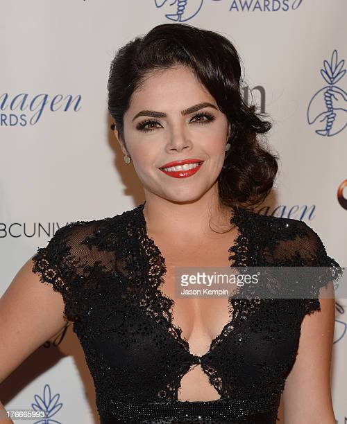 Yarel Ramos attends the 28th Annual Imagen Awards at The Beverly Hilton Hotel on August 16 2013 in Beverly Hills California