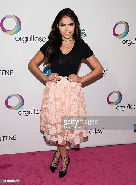 Yarel Ramos attends the Orgullosa #LivingFabulosa event at The Paley Center for Media on February 23 2016 in New York City