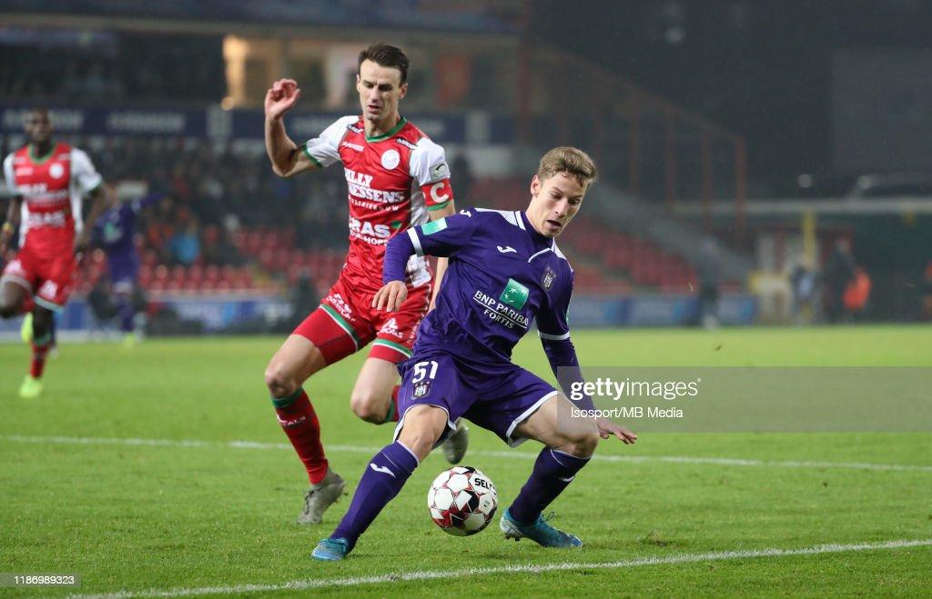 SV Zulte Waregem v RSC Anderlecht - Jupiler Pro League : ニュース写真
