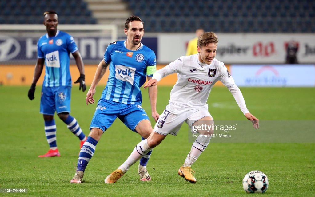 KAA Gent v RSC Anderlecht - Jupiler Pro League : ニュース写真