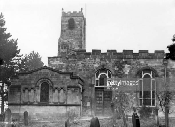 Yarm Parish Church, Stockton, Circa 1955.