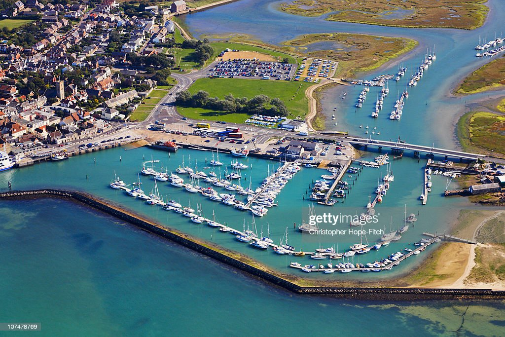 Yarmouth Harbour, Isle of Wight : Stock Photo