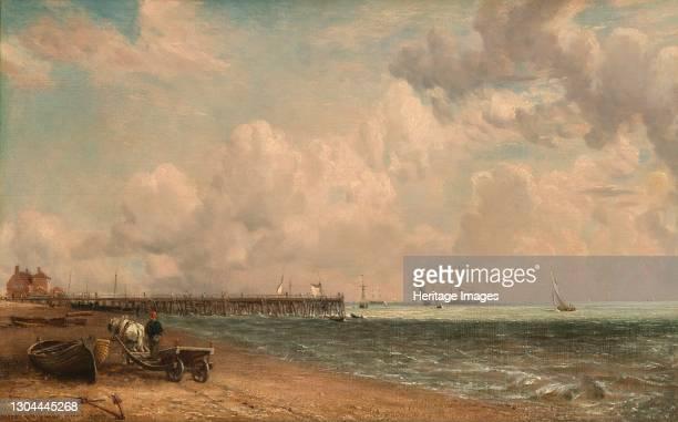 Yarmouth Jetty, 1822. Artist John Constable.
