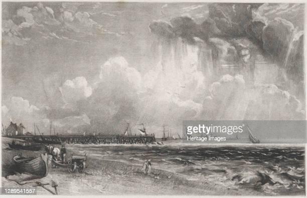 Yarmouth, Norfolk, 1830. Artist David Lucas.