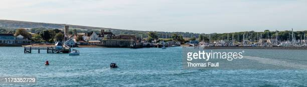 yarmouth port on the isle of wight - yarmouth isle of wight stock pictures, royalty-free photos & images