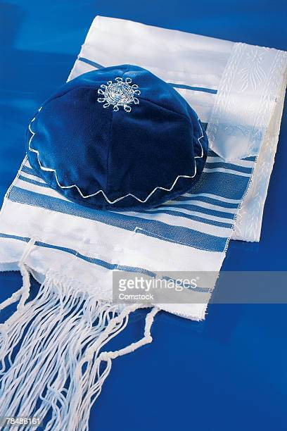 Yarmulke with prayer shawl