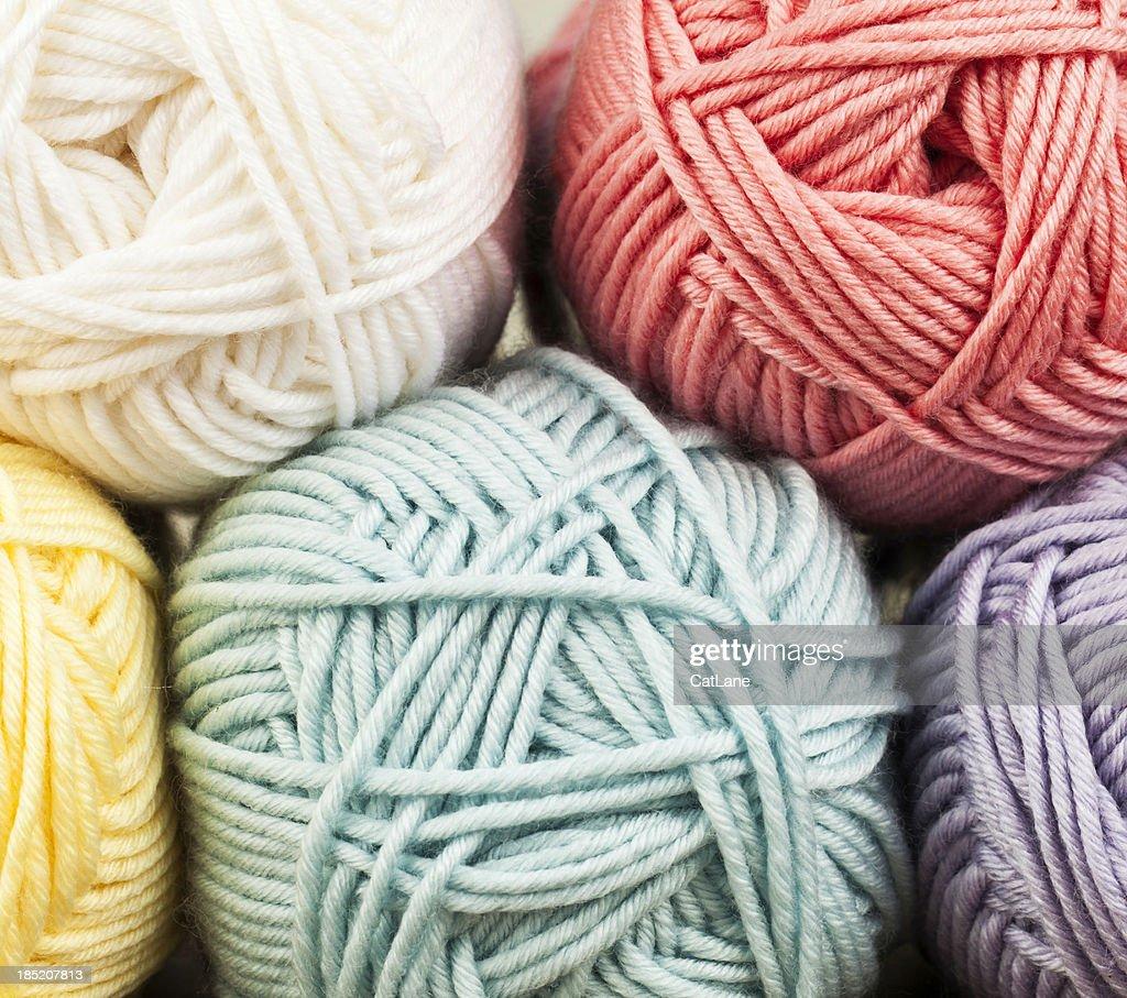Yarn Background : Stock Photo