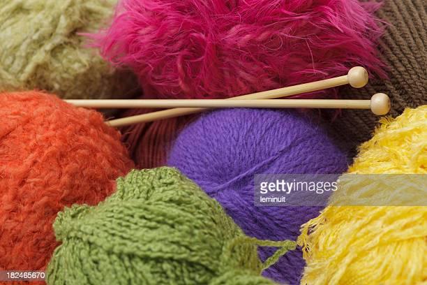 Yarn ball background