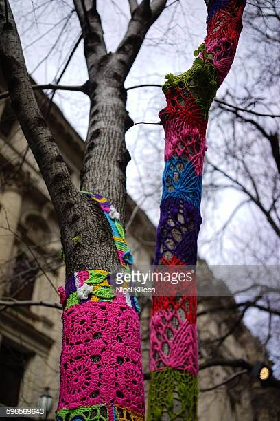 Yarn Bombing, Melbourne