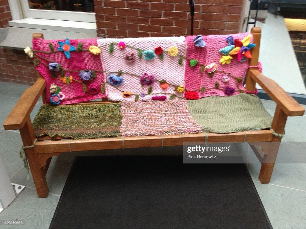 Yarn Bombing : Stock Photo