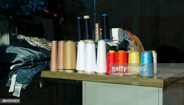 Yarn in a Tailor shop
