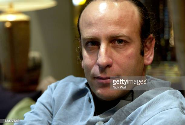 Yaron Kaftor codirector of Out of the Forrest during The Times BFI London Film Festival 2004 Filmmakers Breakfast at Sofitel Hotel in London Great...