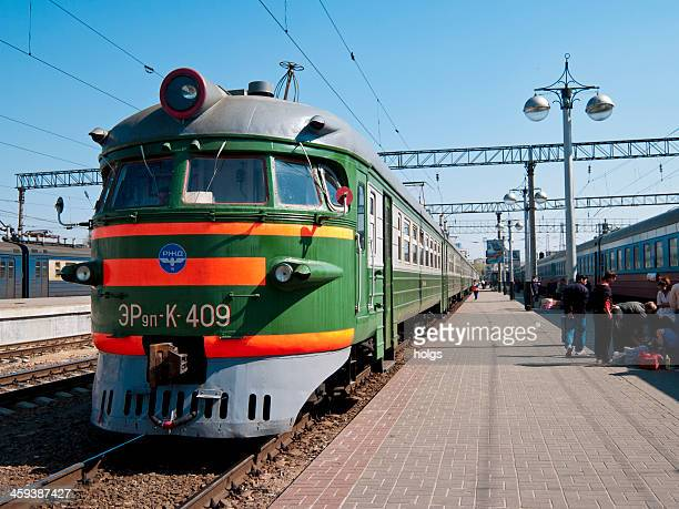 Yaroslavl station die Transsibirische route durch Russland.
