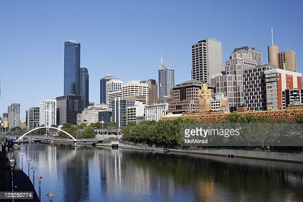 Yarra River in Melbourne, Victoria, Australia