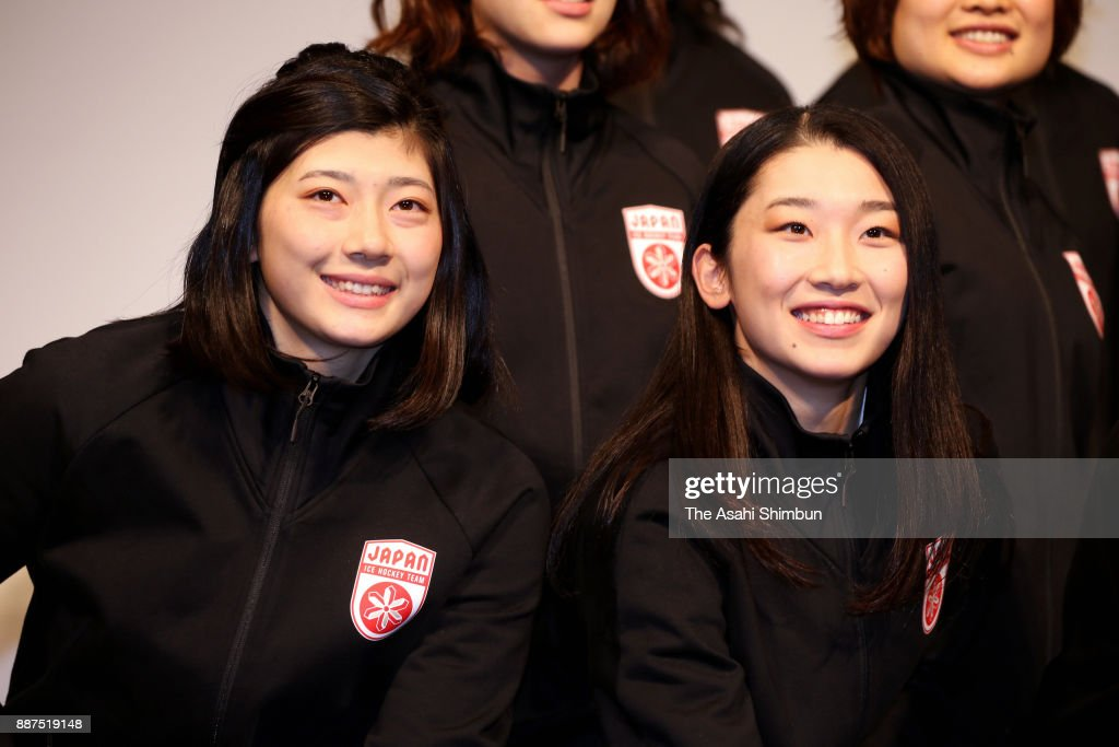 Ice Hockey Japan Women's Team Members Annoucement