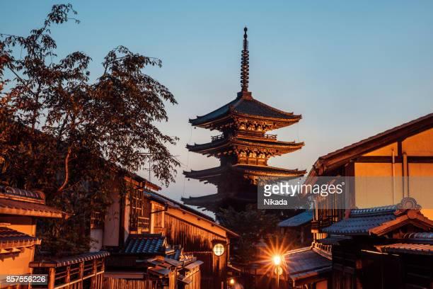 ヤサカ塔の祇園京都,日本
