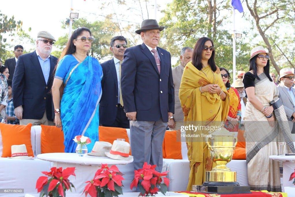 HH Maharaja Jiwaji Rao Scindia Gold Cup 2017 : News Photo