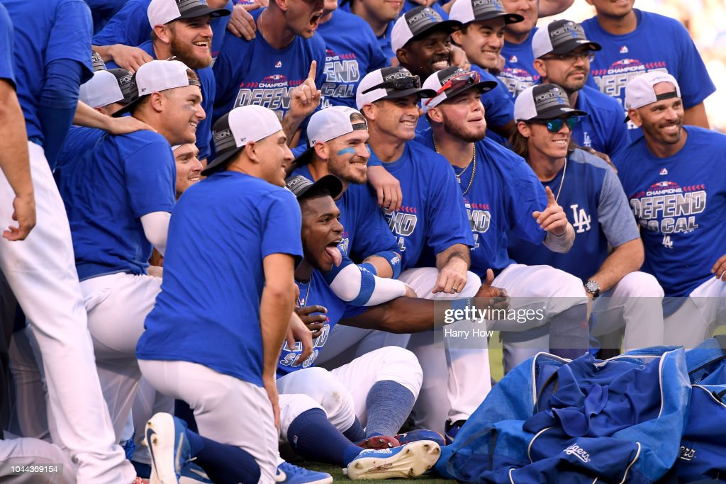 National League Tiebreaker Game - Colorado Rockies v Los Angeles Dodgers : News Photo