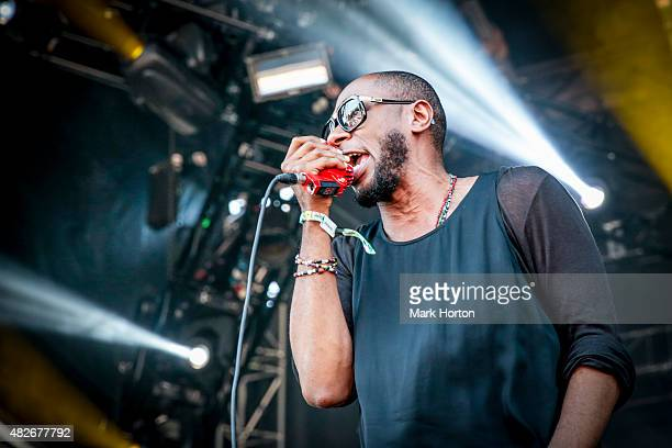 Yasiin Bey aka Mos Def performs on Day 2 of the Osheaga Music and Art Festival on August 1 2015 in Montreal Canada