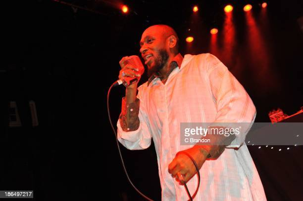 Yasiin Bey aka Mos Def performs on stage at Shepherds Bush Empire on October 31 2013 in London England