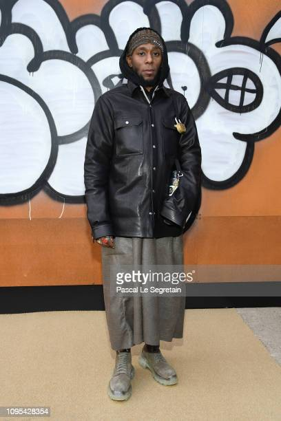 Yasiin Bey attends the Louis Vuitton Menswear Fall/Winter 20192020 show as part of Paris Fashion Week on January 17 2019 in Paris France