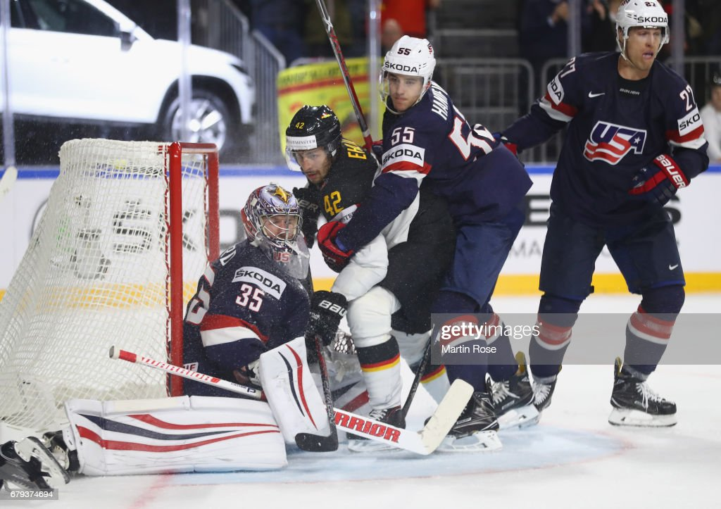 USA v Germany - 2017 IIHF Ice Hockey World Championship : News Photo