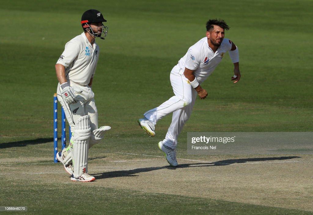 New Zealand v Pakistan - 3rd Test: Day Four : News Photo