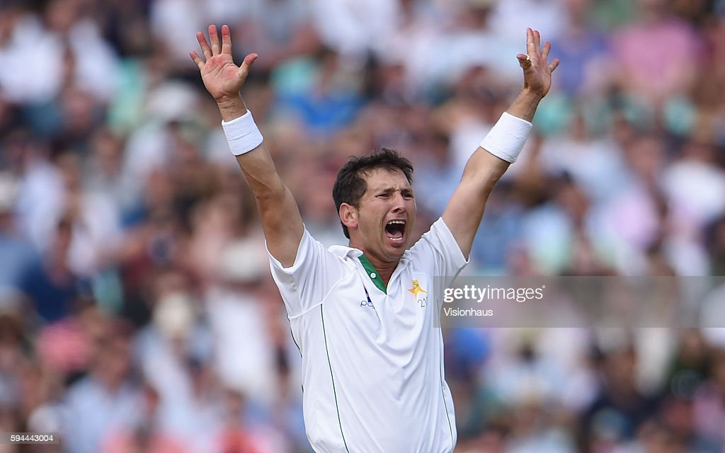 England v Pakistan: 4th Investec Test - Day Four : News Photo