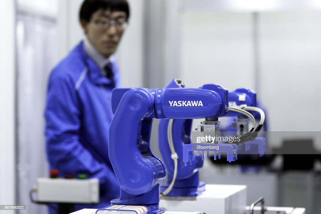 A Yaskawa Electric Corp  MotoMINI small industrial robot
