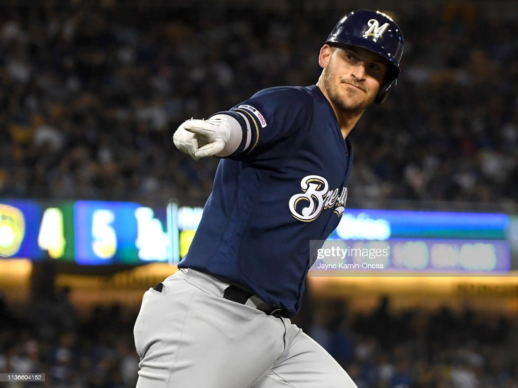 Milwaukee Brewers v Los Angeles Dodgers : News Photo
