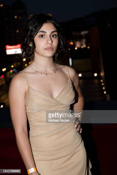 Yasmeen Fletcher arrives at 17th Annual Oscar-Qualifying HollyShorts Film Festival Opening Night at Japan House Los Angeles on September 23, 2021 in...