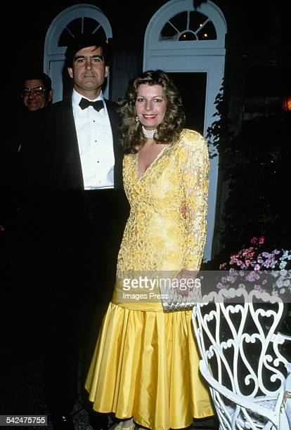Yasmin Aga Khan and Christopher Michael Jeffries circa 1988 in New York City