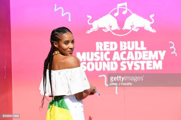 Yasmin Evans attends 'Red Bull Music Academy Soundsystem' at Notting Hill Carnival 2017 on August 27 2017 in London England